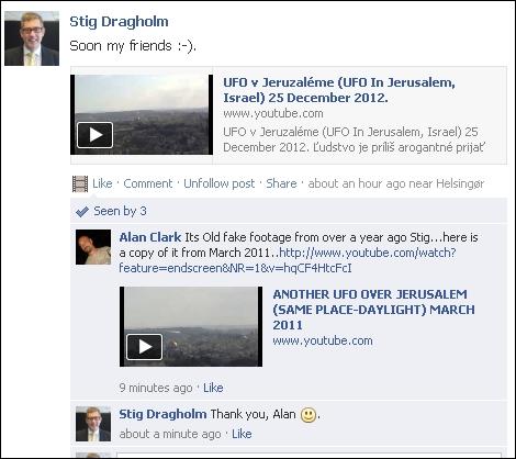 FB 261212 Jerusalem UFO group
