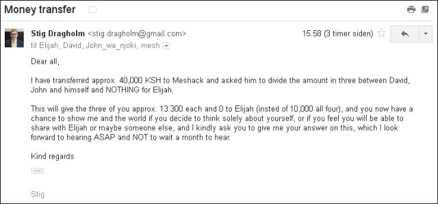 Email til team 310113