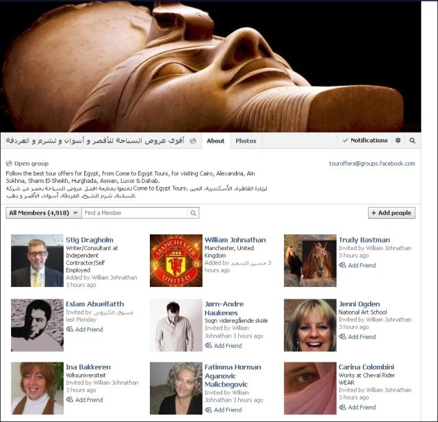 FB 210113 Egypt group