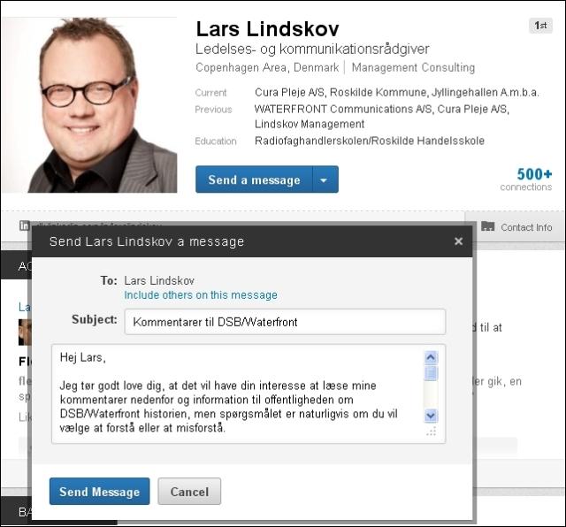 Linkedin email til Lars L 140113