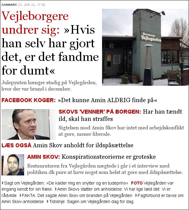Politiken 220113 Amin Skov