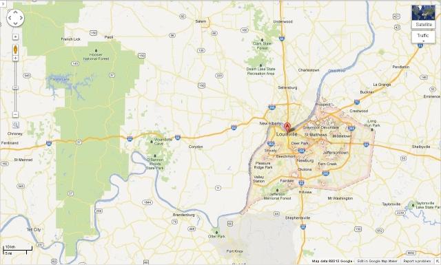 Louisville map 300313