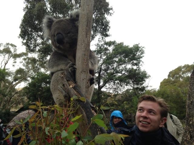 Niklas at Tasmania