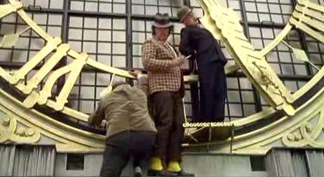 Olsen Banden i uret i Rådhustårnet