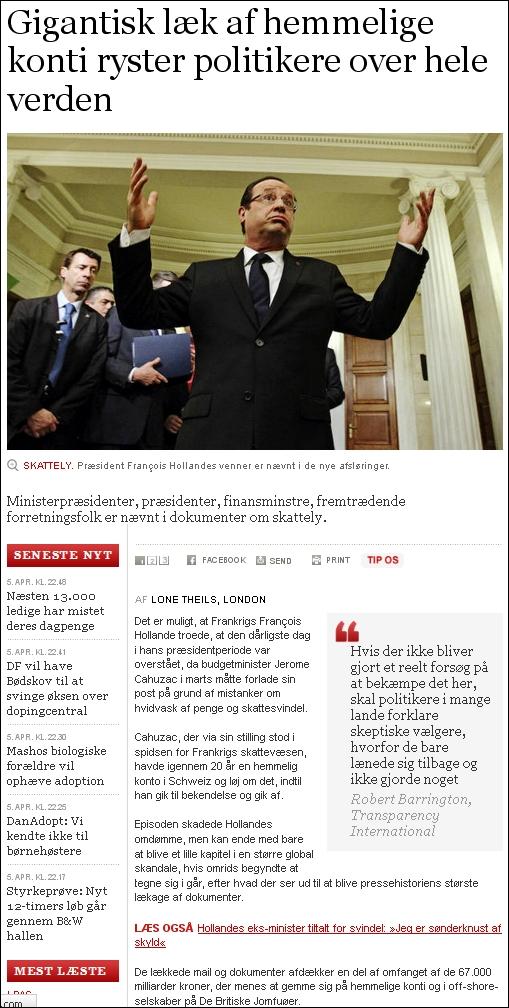 Politiken 050413