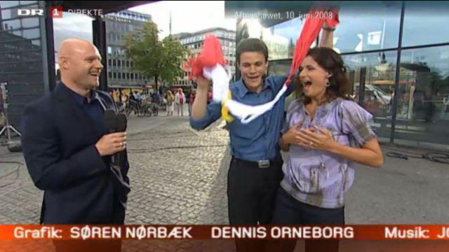 DR1 TV Aftenshowet 160713 Sisse Fisker og Henrik Svanekiær