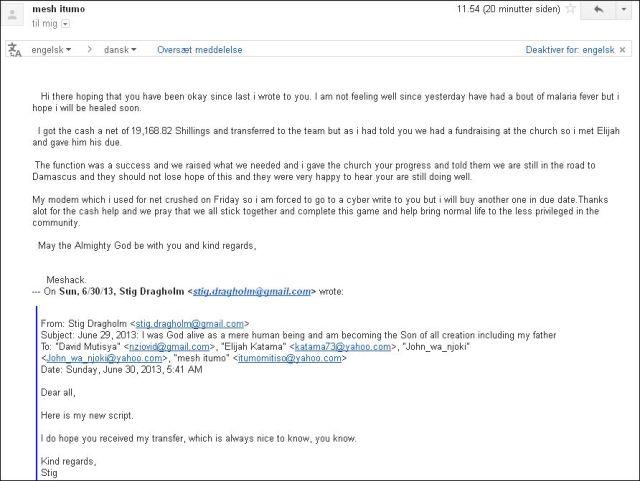 Email Meshack 020713