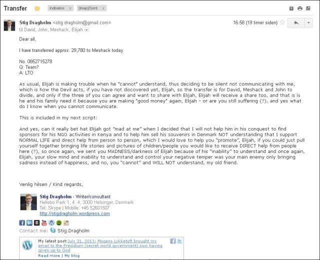 Email til LTO 310713