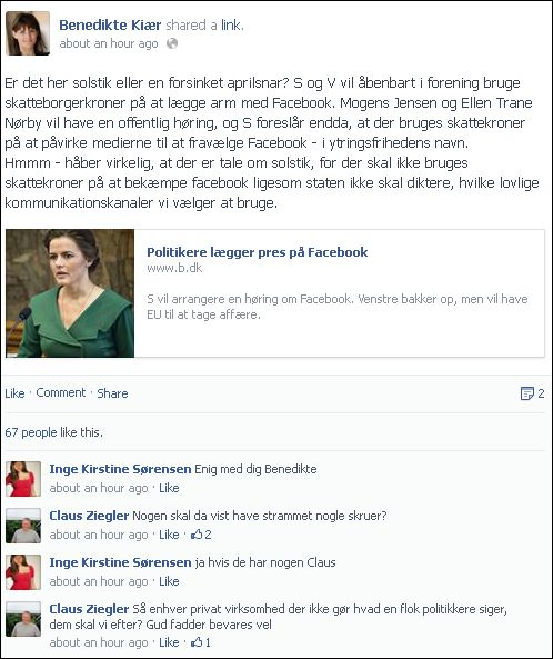 FB 090713 Benedikte