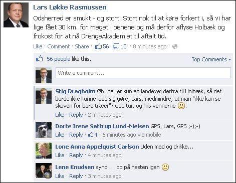 FB 190713 Lars Løkke