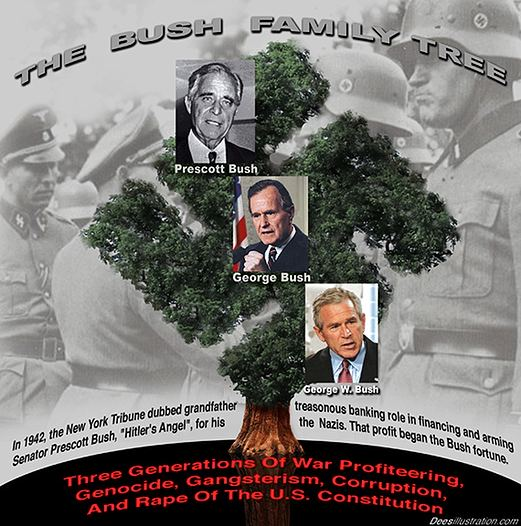 Bush-Family-Tree
