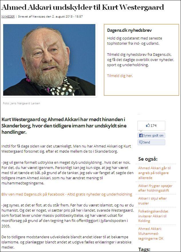 Dagens 020813 Akkari Westergaard
