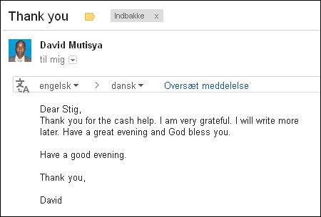 Email David 010813
