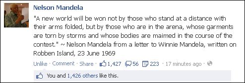FB 040813 Mandela