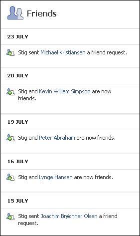 FB friends no