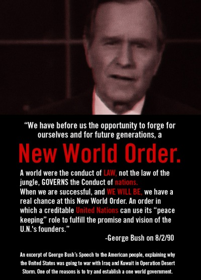 George Bush Sr NWO