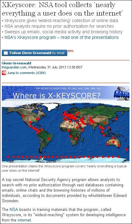 Snowden Keyscore
