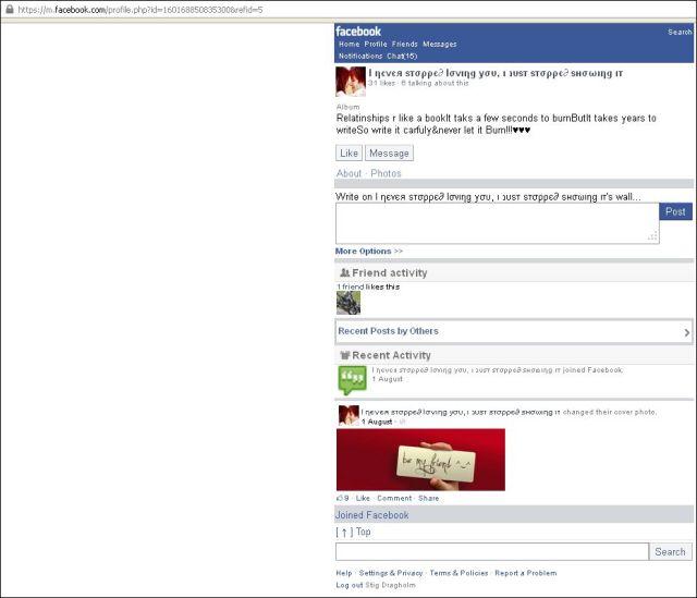 Umar FB site