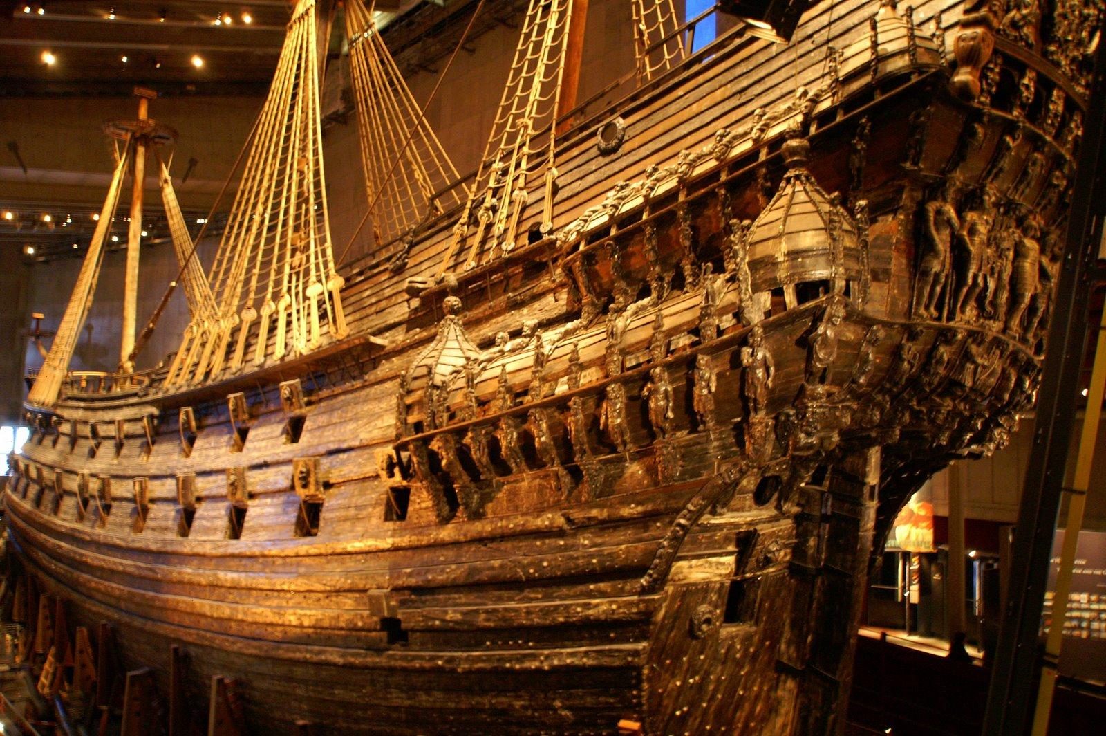 August 2 2013 the grande scandale of the world elite for Vasa ship
