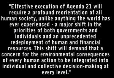 Agenda 21 reorientation