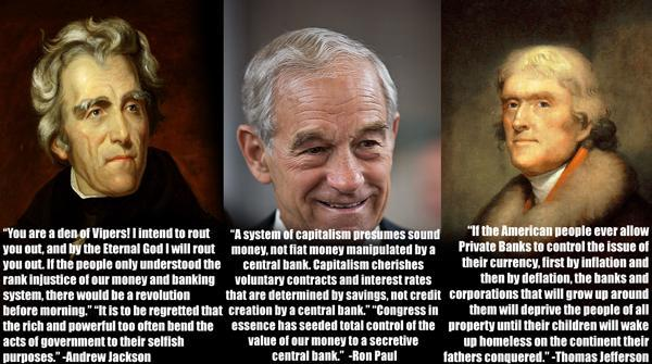 ron paul essay the coming world central bank Rep ron paul's feelings about america's central bank are a matter of public record an extensive public record: in dozens of congressional hearings over the past four decades, he has ribbed.