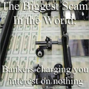 Bankers scam interest