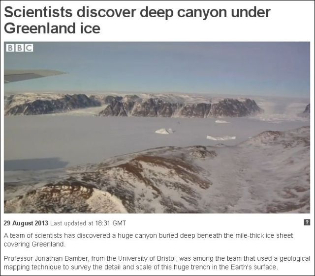 BBC Greenland Canyon
