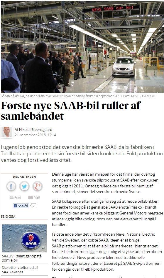 Business 210913 SAAB is back