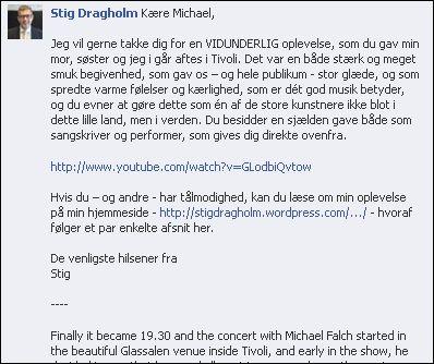 FB 130913 til Michael F