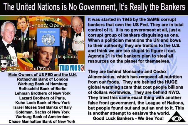 UN controlled by bankers