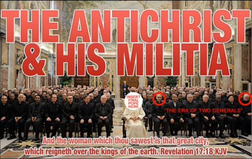 Antichrist and his militia