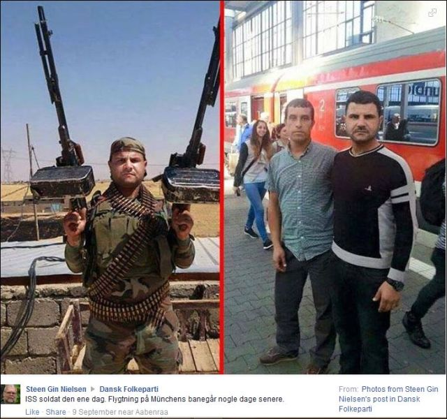 FB 090915 ISIS soldier one day, refugee in Munich some days later