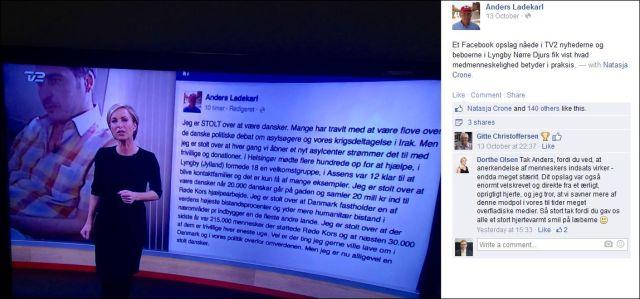 FB 131014 Anders Ladekarl TV2