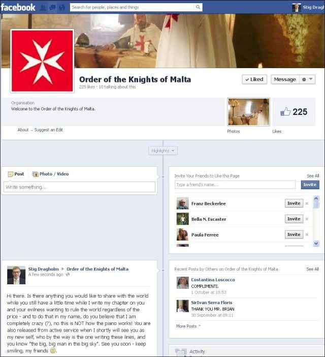 FB 201013 til Knights Malta