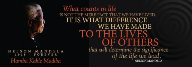 Mandela on life