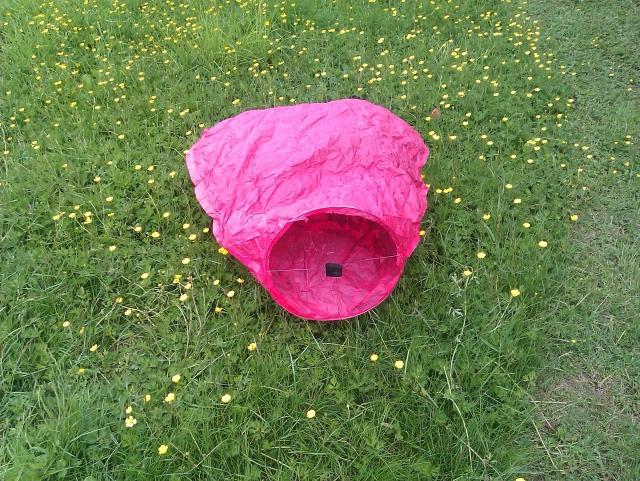 Balloon - sky lantern - 080614-2