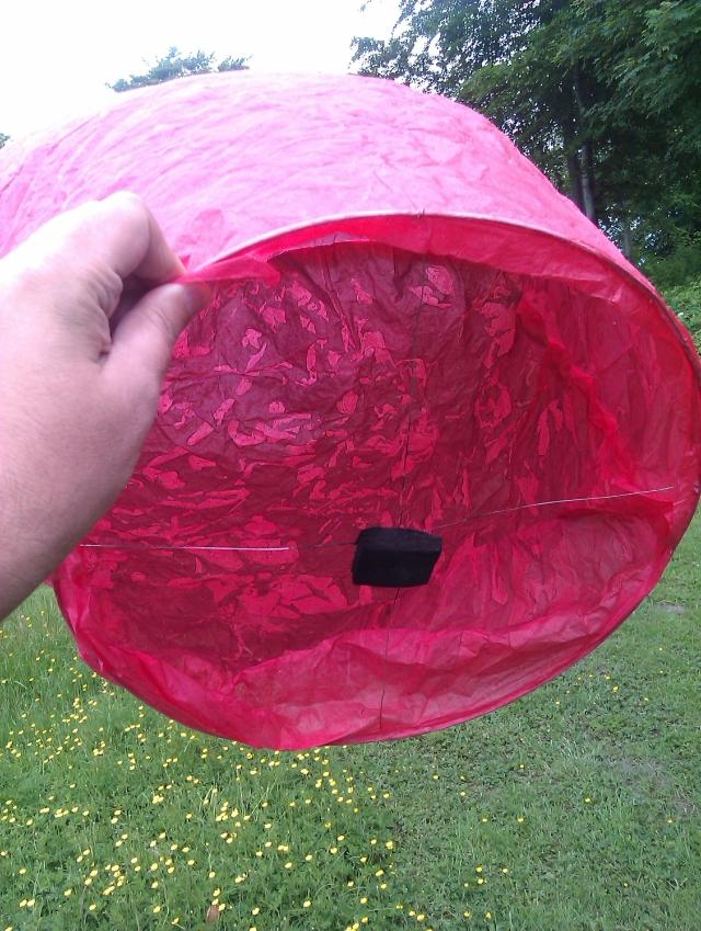 Balloon - sky lantern - 080614