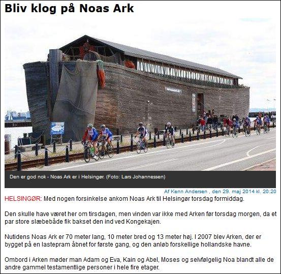Helsingør Dagblad Noahs Ark 290514