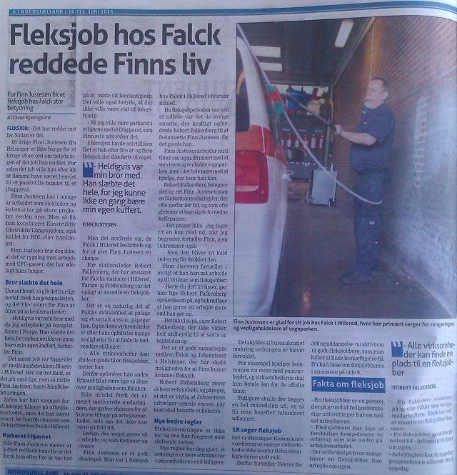 Nordsjælland om Falck og Robert F