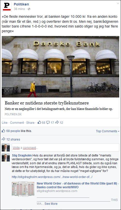 FB 080714 Politiken om banker