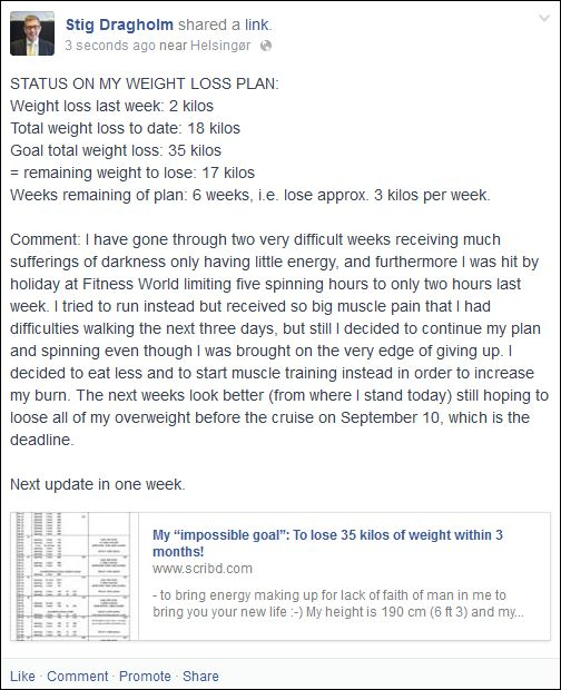 FB 210714 Stig weight loss