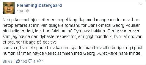 FB 230714 Flemming Ø - Georg var en spade