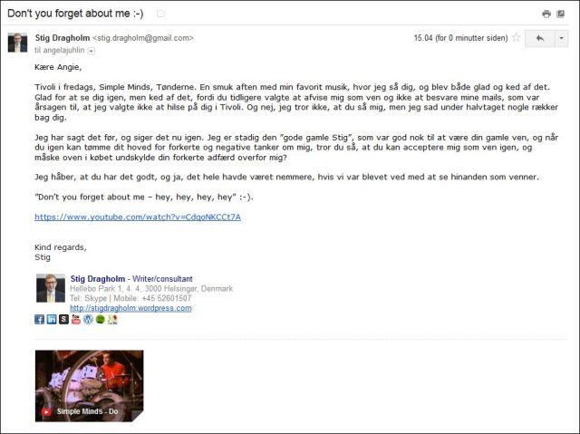 Email til Angie 100814