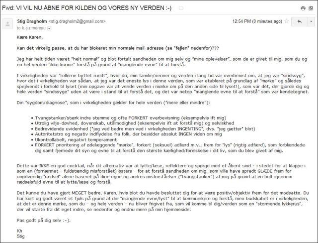 Email til Karen 290814