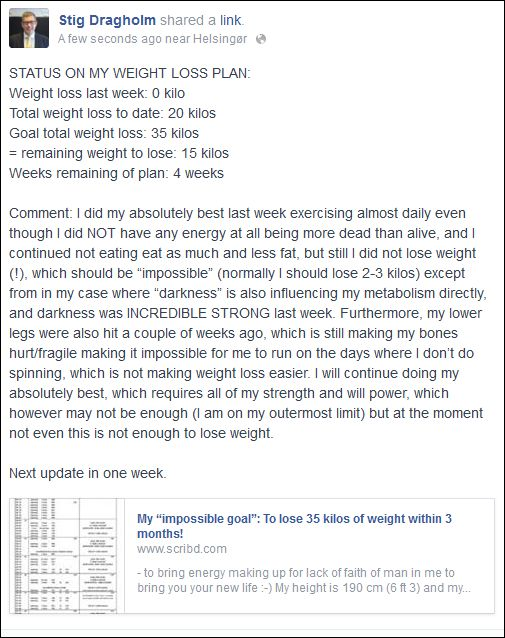 FB 120814 Stig weight loss