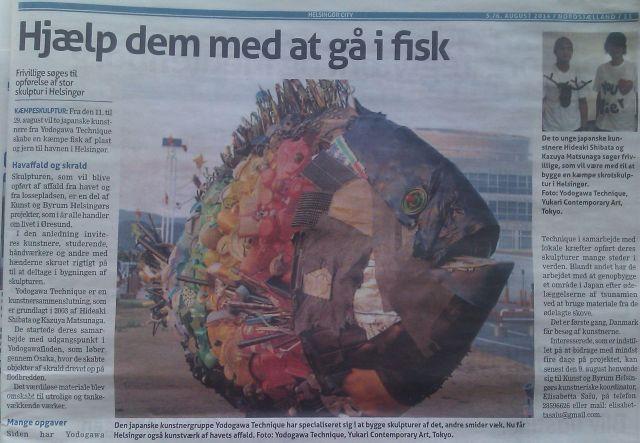 Nordsjælland 060814 fisk på havnen ....