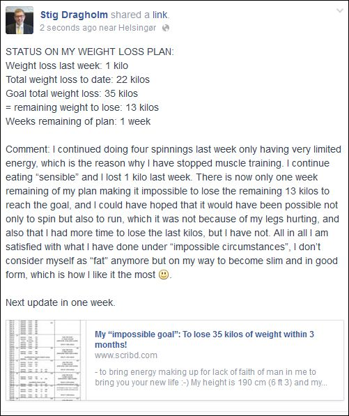 FB 010914 Stig weight loss