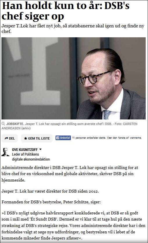 Politiken 010914 DSB