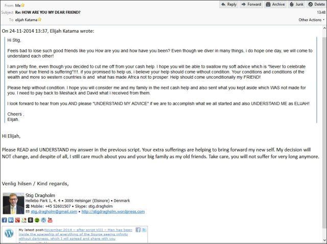 Elijjah email 241114