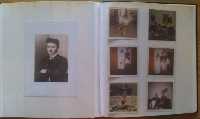 Stigs photo album - second page of Stig including new picture of my fathers fathers father